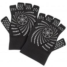 Rękawiczki antypoślizgowe bez palców 54029 GAIAM (czarno-szare)