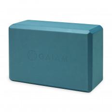 Kostka do jogi z pianki GAIAM (niebieska)