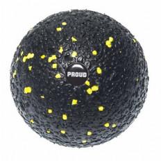 Piłka do masażu EPP BALL 10 cm - PROUD (czarno-żółta)