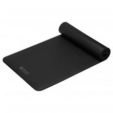 Mata fitness z paskiem 10 mm GAIAM 63319 (czarna)