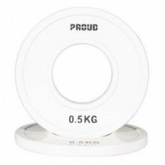 Obciążenie FRACTIONAL STEEL PLATE 0,5kg PROUD