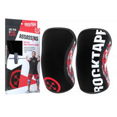 Stabilizatory na kolana Assassins Knee Sleeves 7mm - ROCKTAPE (red camo)