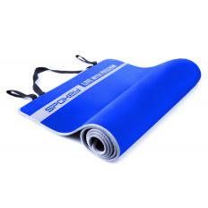 Mata do ćwiczeń fitness FLEXMAT V Spokey (niebieska)