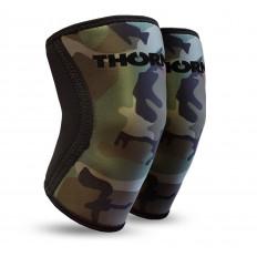 Ściągacze na kolana 6mm THORN+FIT (camo)