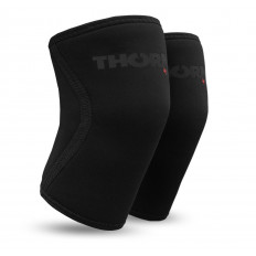 Ściągacze na kolana 6mm THORN+FIT (czarne)