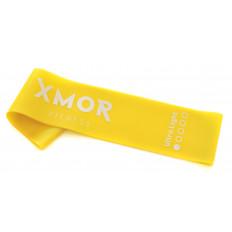 Guma oporowa MINI BAND bardzo lekka XMOR (żółta)