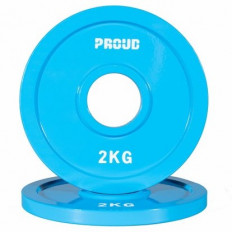 Obciążenie FRACTIONAL STEEL PLATE 2kg PROUD