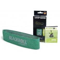 Taśma średnia LOOP BAND 30 cm BLACKROLL (zielona)