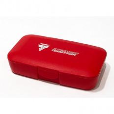 Trec - Pudełko na kapsułki Box For Tablets - Stronger Together (czerwone)