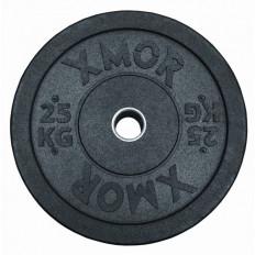 Obciążenie olimpijskie BUMPER PLATES 25 kg XMOR
