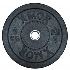 Obciążenie olimpijskie BUMPER PLATES 5 kg XMOR
