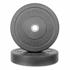 Obciążenie olimpijskie BUMPER PLATES BY HI-TEMP 2.0 25kg - PROUD