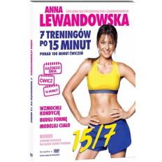 Film instruktażowy DVD - Anna Lewandowska - 7 treningów po 15 minut