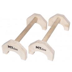 Poręcze drewniane parallettes MTidea - PT4