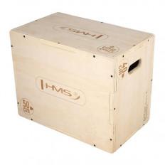 Box / Skrzynia drewniana mała 50x40x30 cm PLYO BOX DSC04 HMS