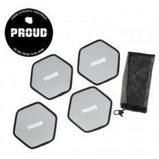 Zestaw dysków poślizgowych GLIDE DISCS - PROUD (4 sztuki)