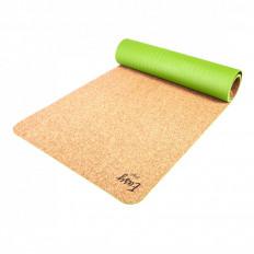 Eco mata do jogi easy korek natural green