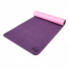 Eco mata do jogi easy podwójna 6mm purple