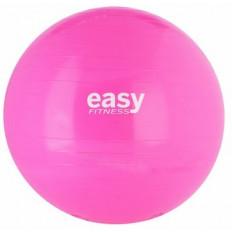 Piłka gimnastyczna 55cm EASY FITNESS (różowa)