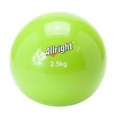 Piłka wagowa SAND BALL 2,5 kg Allright (zielona)