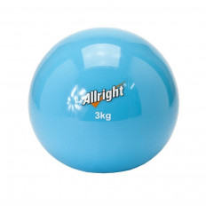Piłka wagowa SAND BALL 3 kg Allright (niebieska)