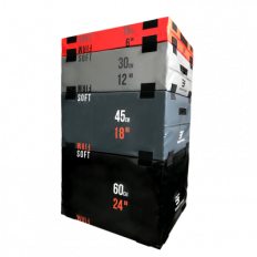 Zestaw skrzyń plyometrycznych 4 - części CFA-170 BAUER FITNESS