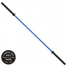 Gryf olimpijski treningowy TRAINING BAR MAN`S 20 kg XMOR (niebieski)