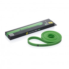 Guma Powerband średnia - LET'S BANDS (zielona)