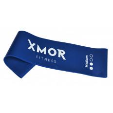 Guma oporowa MINI BAND SZEROKA średnia XMOR (niebieska)
