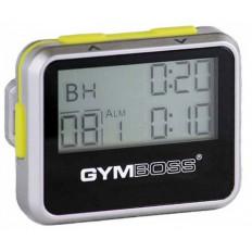 Zegar / stoper interwałowy GYMBOSS (srebrno-żółty)