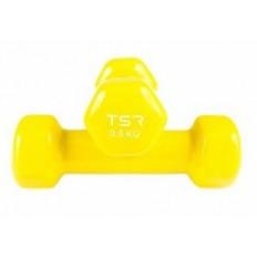 Hantle FITNESS VINYL 2x 0,5kg TSR (żółte)