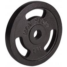 Obciążenie żeliwne 31mm 5kg Hop Sport (czarne)