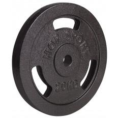 Obciążenie żeliwne 31mm 20kg Hop Sport (czarne)