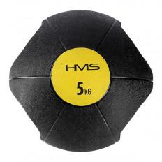 Piłka lekarska z uchwytem 5 kg NKU05 HMS