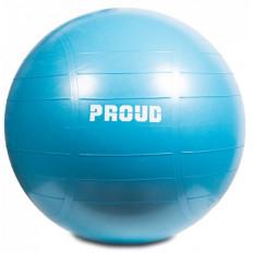 Piłka gimnastyczna GYM BALL 65 cm - PROUD (niebieska)