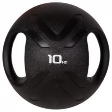 Piłka lekarska MULTI GRIP MEDBALL 10 kg - PROUD (czarna)