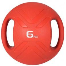 Piłka lekarska MULTI GRIP MEDBALL 6 kg - PROUD (czerwona)