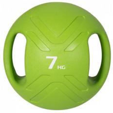 Piłka lekarska MULTI GRIP MEDBALL 7 kg - PROUD (zielona)