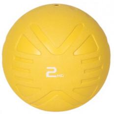 Piłka lekarska MEDICINE BALL 2 kg - PROUD (żółta)