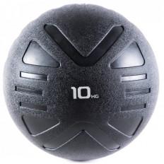 Piłka lekarska MEDICINE BALL BLACK 10 kg - PROUD