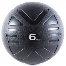 Piłka lekarska MEDICINE BALL BLACK 6 kg - PROUD