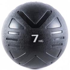 Piłka lekarska MEDICINE BALL BLACK 7 kg - PROUD