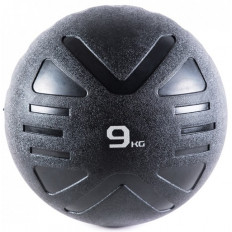Piłka lekarska MEDICINE BALL BLACK 9 kg - PROUD