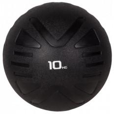 Piłka lekarska MEDICINE BALL 10 kg - PROUD (czarna)