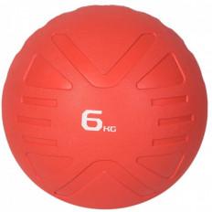 Piłka lekarska MEDICINE BALL 6 kg - PROUD (czerwona)
