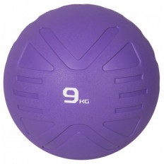 Piłka lekarska MEDICINE BALL 9 kg - PROUD (fioletowa)