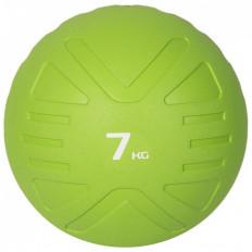 Piłka lekarska MEDICINE BALL 7 kg - PROUD (zielona)
