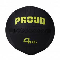Piłka lekarska WALLBALL 4 kg - PROUD