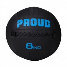 Piłka lekarska WALLBALL 8 kg - PROUD