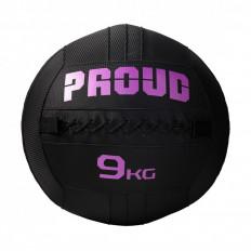 Piłka lekarska WALLBALL 9 kg - PROUD